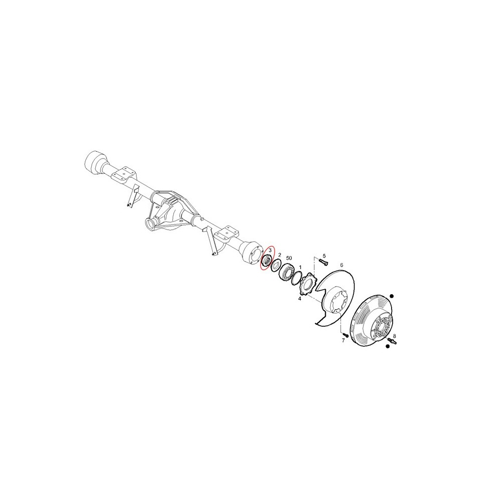 504084722 tringlerie essuie glace iveco