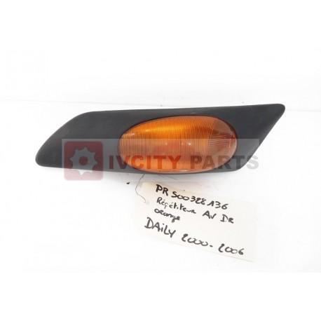 Clignotant d'Aile Iveco Orange Droit 500328136 Occasion